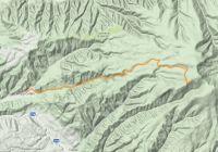 Câmpu Cetăţii - Valea Nirajul Mic - Stânca Mesei - Vârful Saca Mare